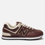 Мужские кроссовки New Balance ML574WND Brown фото- 0
