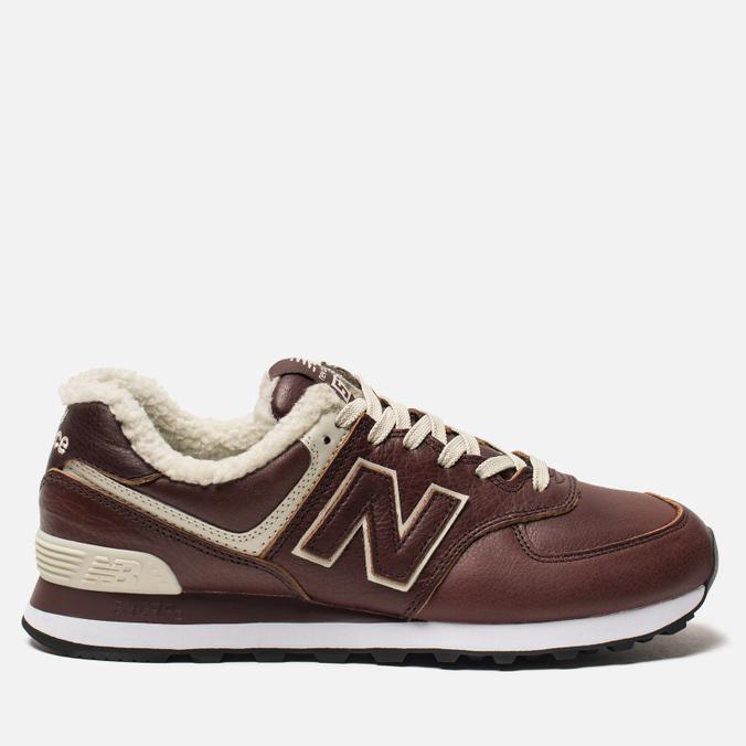 Мужские кроссовки New Balance ML574WND Brown