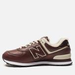 Мужские кроссовки New Balance ML574WND Brown фото- 1