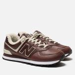 Мужские кроссовки New Balance ML574WND Brown фото- 2