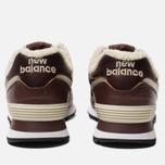 Мужские кроссовки New Balance ML574WND Brown фото- 3