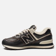 Кроссовки New Balance ML574WNE Dark Brown фото- 1