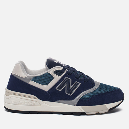 Мужские кроссовки New Balance ML597AAA Blue/Black/Orion Blue/Grey