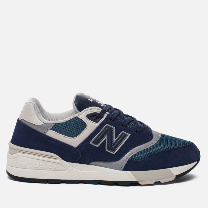 Мужские кроссовки New Balance ML597AAA Blue/Black/Orion Blue/Grey