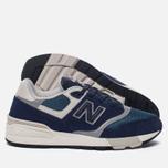 Мужские кроссовки New Balance ML597AAA Blue/Black/Orion Blue/Grey фото- 1