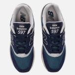 Мужские кроссовки New Balance ML597AAA Blue/Black/Orion Blue/Grey фото- 4