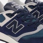 Мужские кроссовки New Balance ML597AAA Blue/Black/Orion Blue/Grey фото- 5