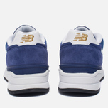 Мужские кроссовки New Balance ML597RSB Blue/White/Gold фото- 3