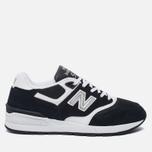 Мужские кроссовки New Balance ML597RSD Black/White фото- 0