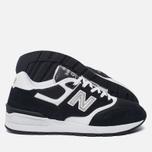Мужские кроссовки New Balance ML597RSD Black/White фото- 1