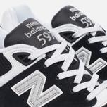 Мужские кроссовки New Balance ML597RSD Black/White фото- 5