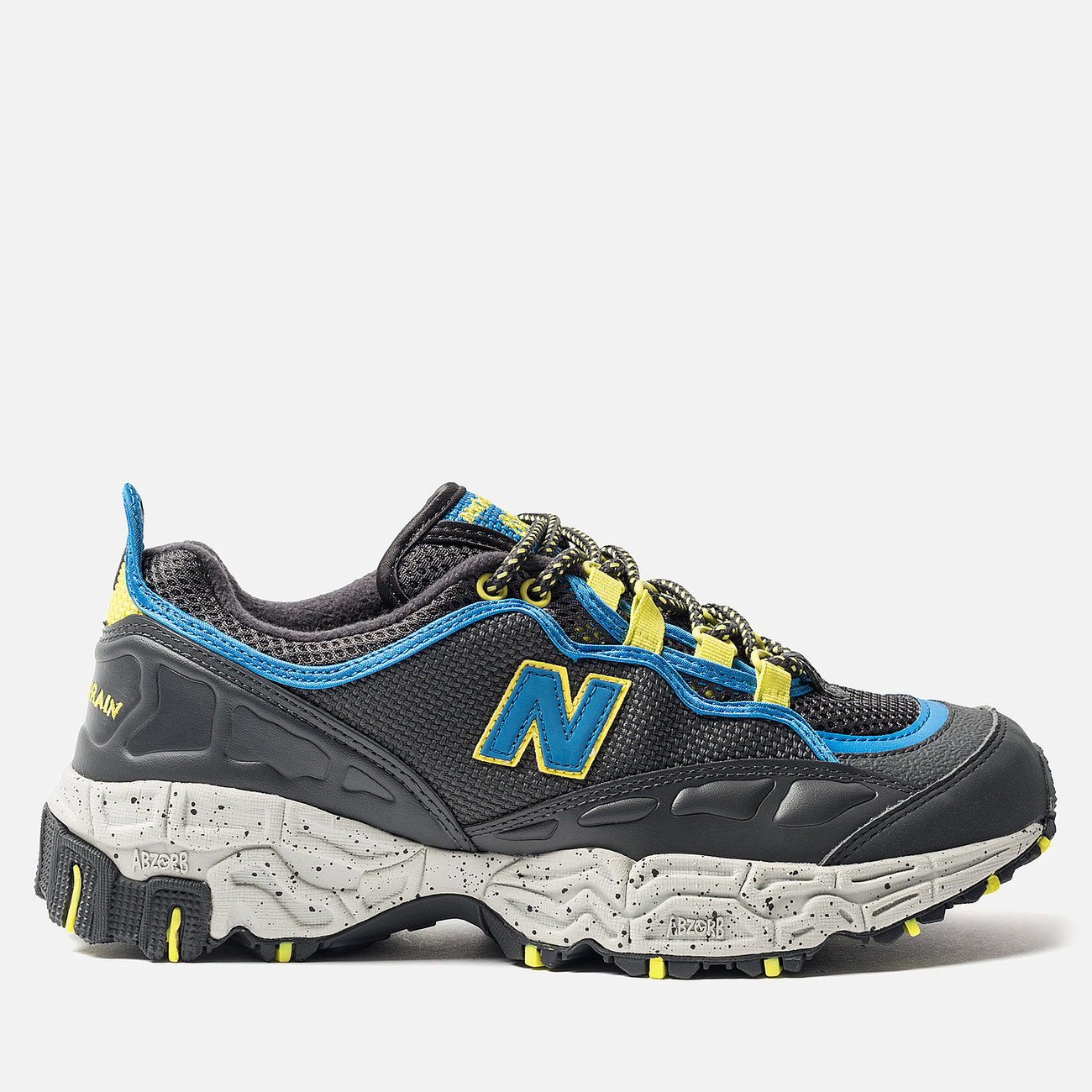 Мужские кроссовки New Balance ML801GLC Black/Grey/Yellow