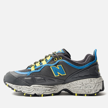 Мужские кроссовки New Balance ML801GLC Black/Grey/Yellow фото- 1