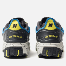 Мужские кроссовки New Balance ML801GLC Black/Grey/Yellow фото- 3