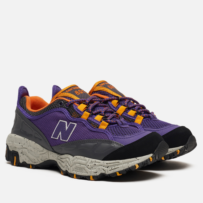 Мужские кроссовки New Balance ML801NEA Prism Purple/Black/Orange