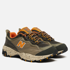 Мужские кроссовки New Balance ML801NEB Olive/Black/Orange