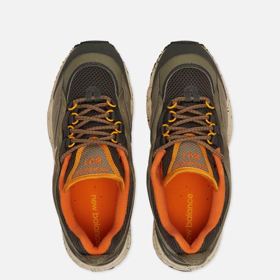 Мужские кроссовки New Balance ML801NEB Olive/Black/Orange