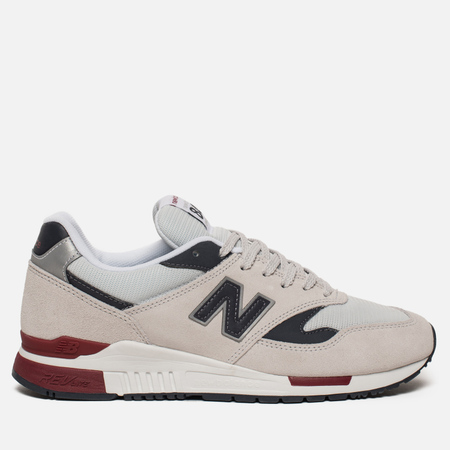Мужские кроссовки New Balance ML840BE Suede Pigment/White