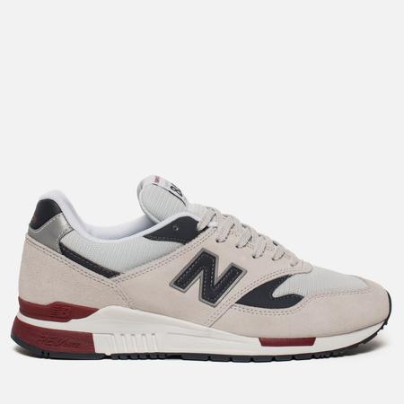 Мужские кроссовки New Balance ML840BE Suede Pigment/White