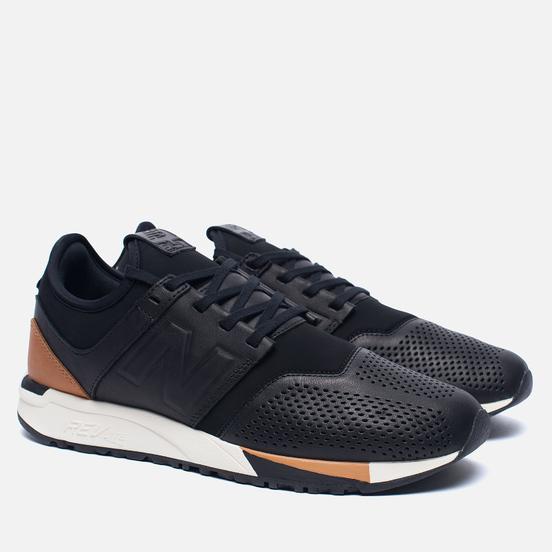 Мужские кроссовки New Balance MRL247BL Luxe Pack Black