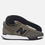 Мужские кроссовки New Balance MRL247OL Sport Pack Olive/Black фото- 1