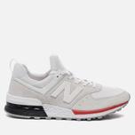 Мужские кроссовки New Balance MS574AW Silver фото- 0