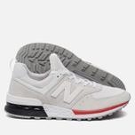 Мужские кроссовки New Balance MS574AW Silver фото- 1