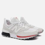 Мужские кроссовки New Balance MS574AW Silver фото- 2