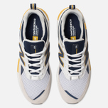 Мужские кроссовки New Balance MS574EDD White/Navy/Yellow фото- 5