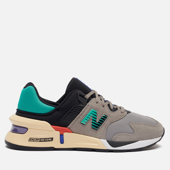 Мужские кроссовки New Balance MS997JEB Outdoor Pack Grey/Black/Green