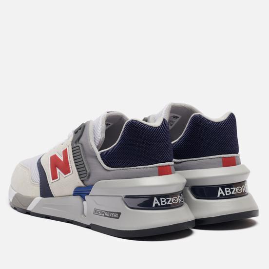 Мужские кроссовки New Balance MS997LOS Grey/Navy/Red
