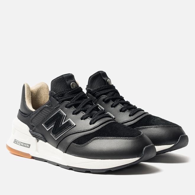 Мужские кроссовки New Balance MS997RB Black/White