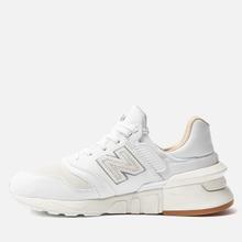 Мужские кроссовки New Balance MS997RI White/White фото- 5