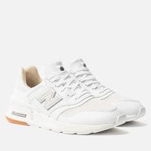 Мужские кроссовки New Balance MS997RI White/White фото- 0