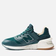 Мужские кроссовки New Balance MS997RJ Green/White фото- 1