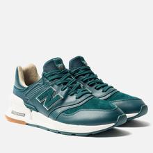 Мужские кроссовки New Balance MS997RJ Green/White фото- 2