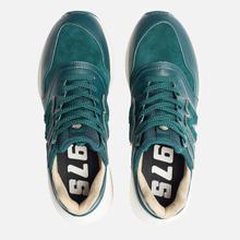 Мужские кроссовки New Balance MS997RJ Green/White фото- 5
