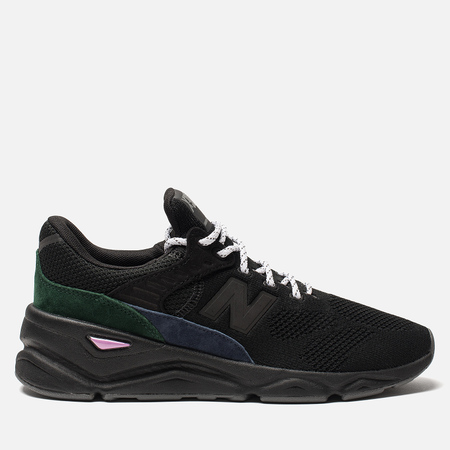 Мужские кроссовки New Balance MSX90BG Black/Grey/Green Colourway