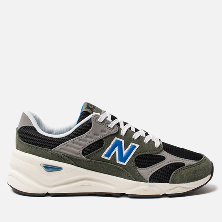 Мужские кроссовки New Balance MSX90TTH X-90 Olive/Grey/Black