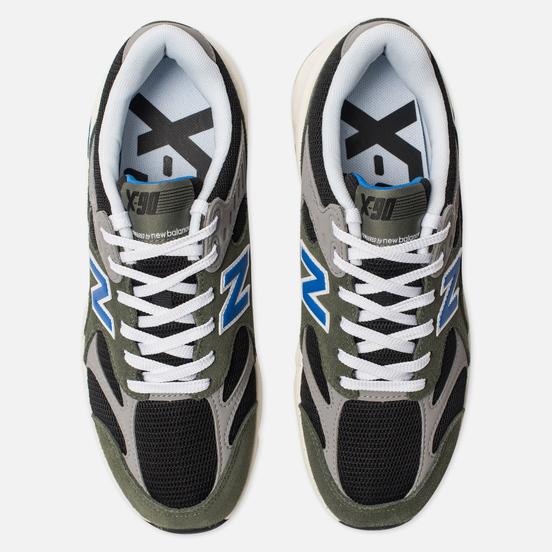 Мужские кроссовки New Balance MSX90TTH X-90 Olive/Grey/Black