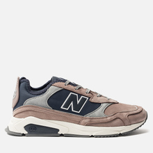 Мужские кроссовки New Balance MSXRCFA X-Racer Brown/Navy/Grey фото- 0