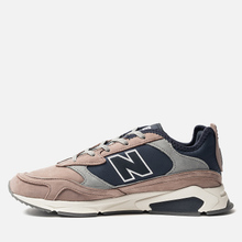 Мужские кроссовки New Balance MSXRCFA X-Racer Brown/Navy/Grey фото- 1