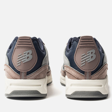 Мужские кроссовки New Balance MSXRCFA X-Racer Brown/Navy/Grey фото- 4