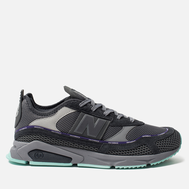 Мужские кроссовки New Balance MSXRCTLA X-Racer Grey/Blue