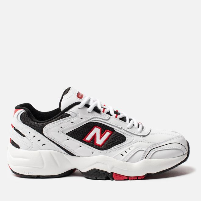 Мужские кроссовки New Balance MX452SD White/Black/Red