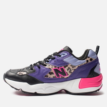 Мужские кроссовки New Balance MX608SA1 Black/Prism Purple/Leopard Print фото- 5