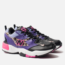 Мужские кроссовки New Balance MX608SA1 Black/Prism Purple/Leopard Print фото- 0