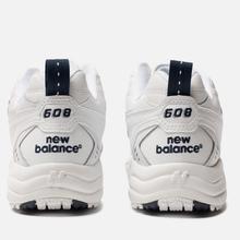 Кроссовки New Balance MX608WT White фото- 2