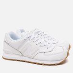 Мужские кроссовки New Balance NB574BAA White фото- 1