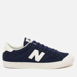Мужские кроссовки New Balance ProcCourt Canvas Navy/White фото- 0